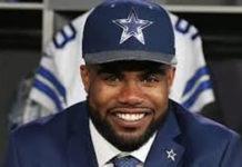 NFL's best selling jersey belongs to Cowboys rookie Ezekiel Elliot