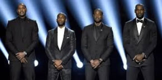 NBA athletes stand up against racism at ESPY's