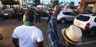 San Diego Protest