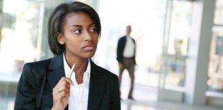 black businesswoman