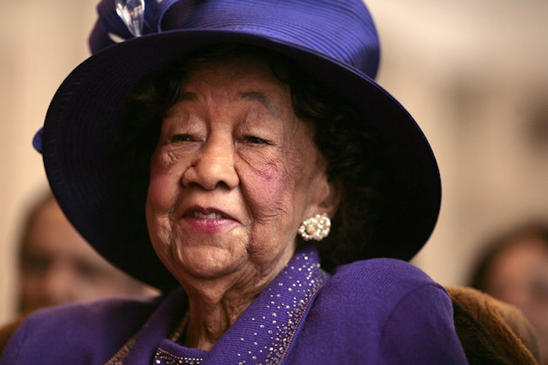 Civil Rights Icon Dorothy Height Honored With Stamp
