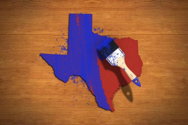 Image result for turning texas blue