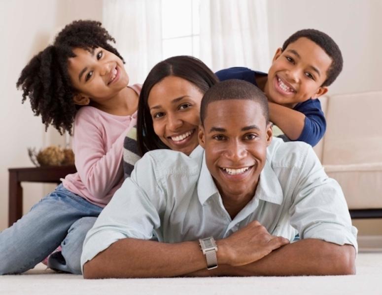 single black parents