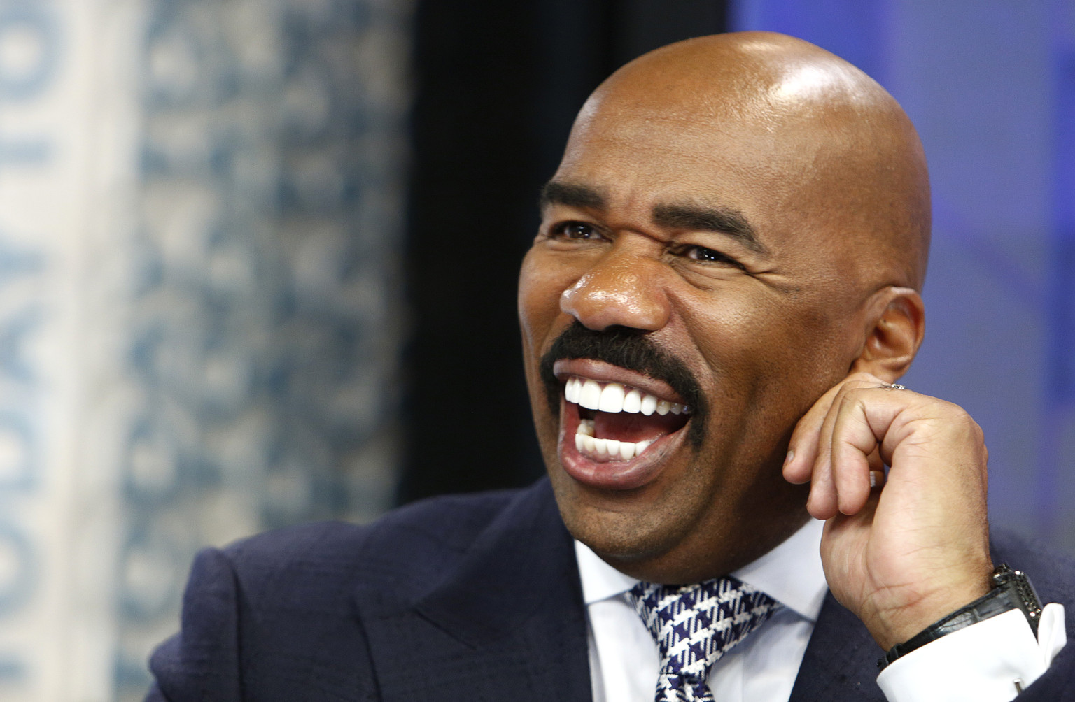 Steve Harvey's investment in cable networks has fans hopeful