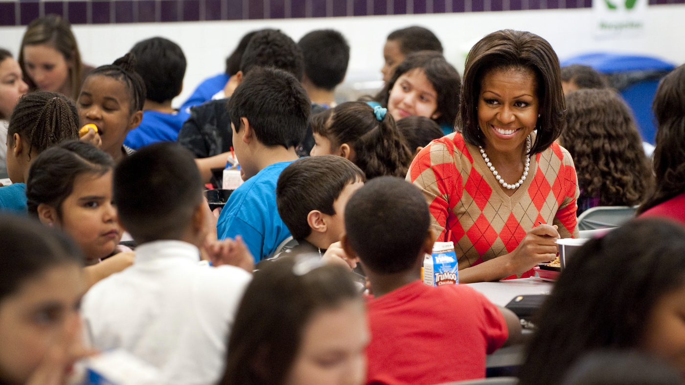 Kids Not Eating Michelle Obamas Food