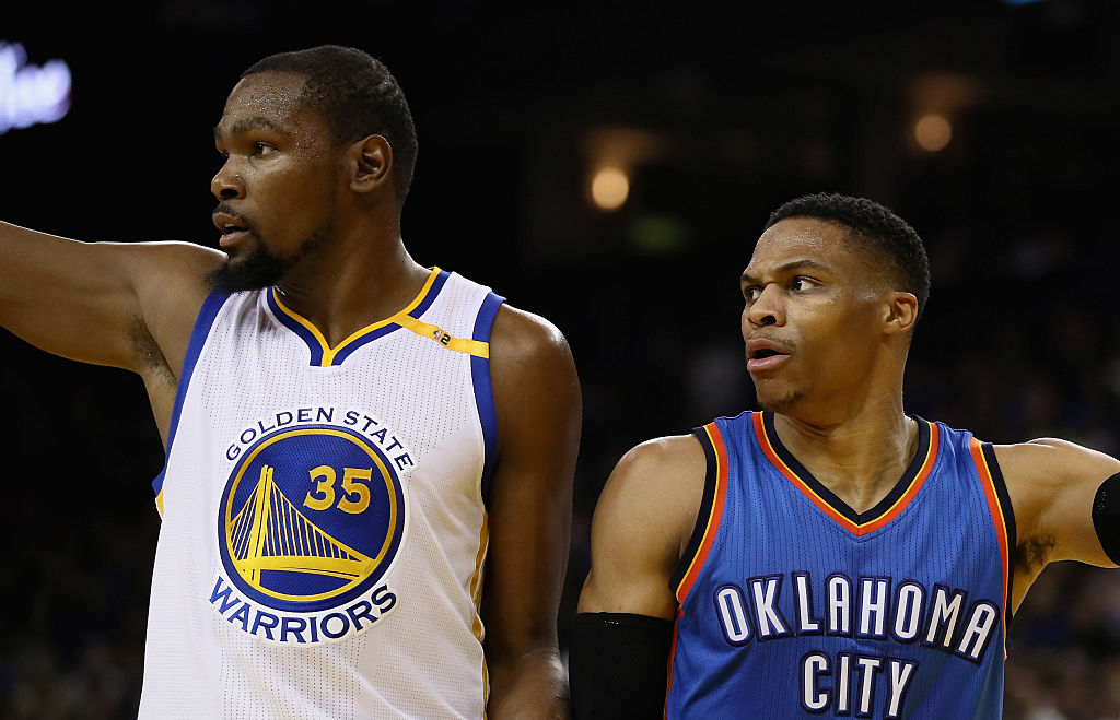 9a262a962d88 A phone call has taken place between feuding former NBA teammates Russell  Westbrook and Kevin Durant that signals a thawing in their friendship that  ...