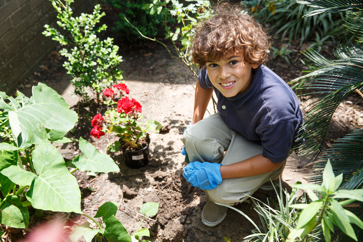 Harris County Community Garden Becomes Student Learning