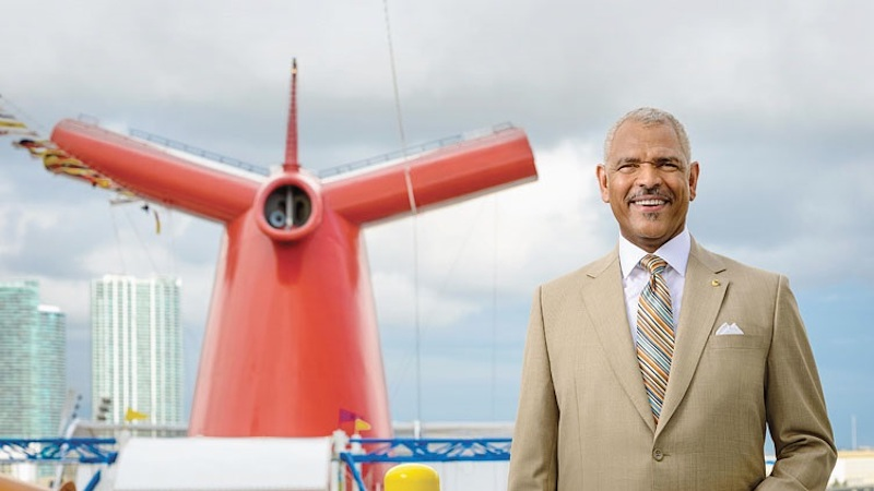 Carnival CEO Arnold Donald tops list of global minority business ...