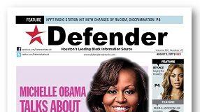 Defender Cover Aug. 3 Michelle Obama