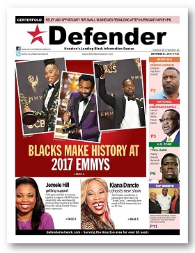 Sept. 21 Houston Defender