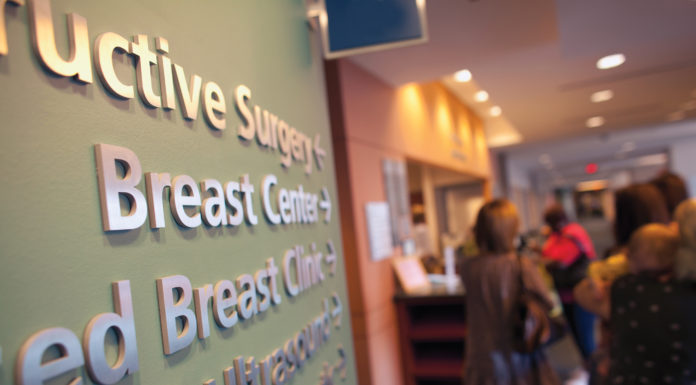 MD Anderson Breast Clinic- Photo by F. Carter Smith