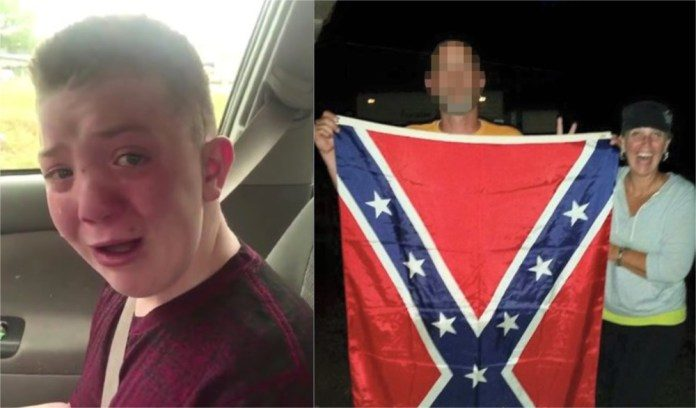 Keaton Jones Mother Kimberly Jones >> Mom of bullied boy who went viral ironically outed as a racist - DefenderNetwork.com