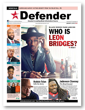 Houston Defender January 18