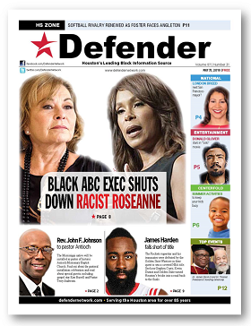 Houston Defender May 31, 2018 Roseanne Barr