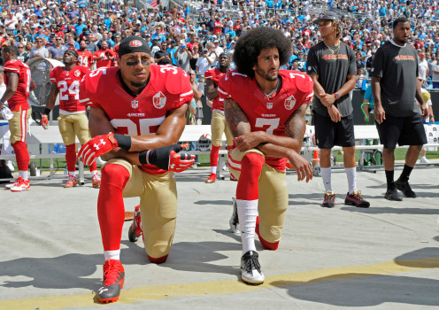 Report: Colin Kaepernick and Eric Reid had to split $10 mil in their NFL collusion case