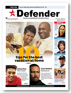 Houston Defender June 28 2018