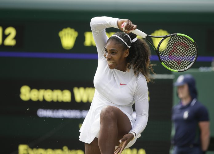 Serena Williams Britain Wimbledon Tennis