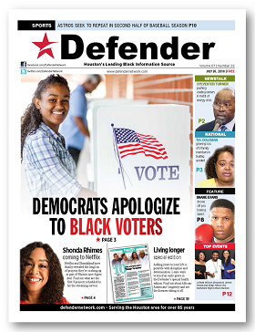 July 26, 2018 Democratic Party apologizes to Black voters