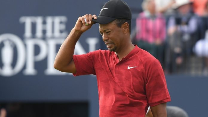 tiger woods  back on the rise  but falls short at the