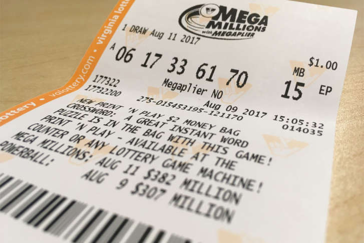 Mega millions prizes for matching numbers to number