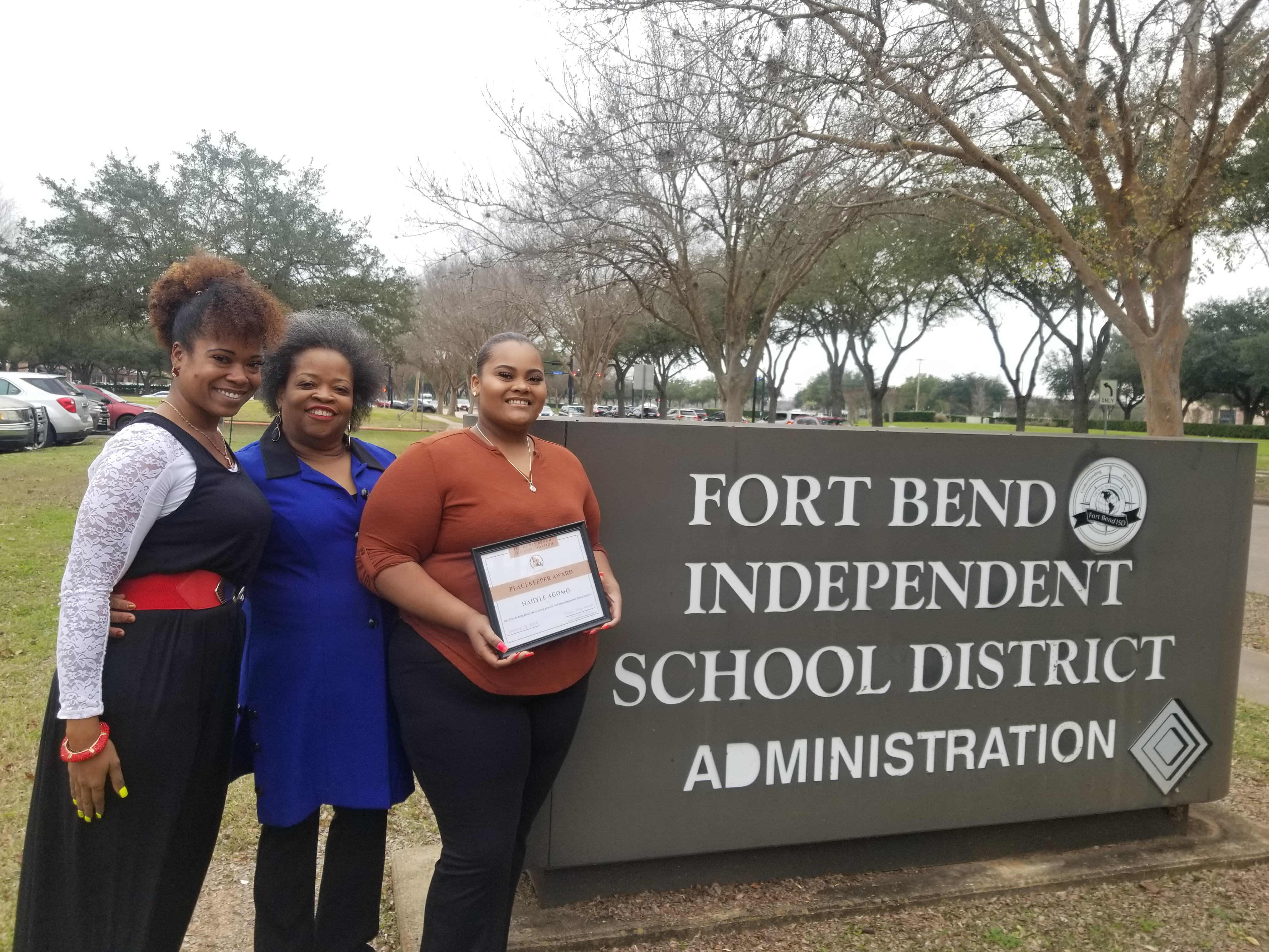 Teen honored as activist works to raise awareness about Fort