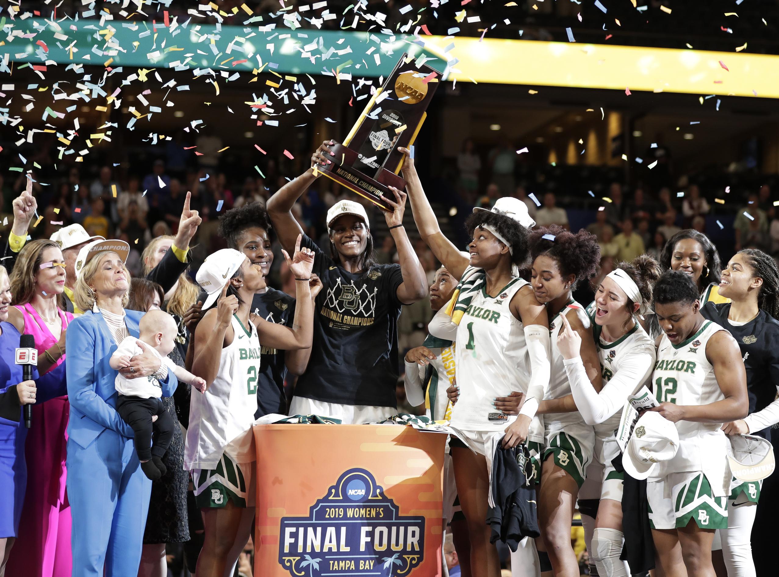 Baylor Lady Bears win NCAA women's Final Four ...