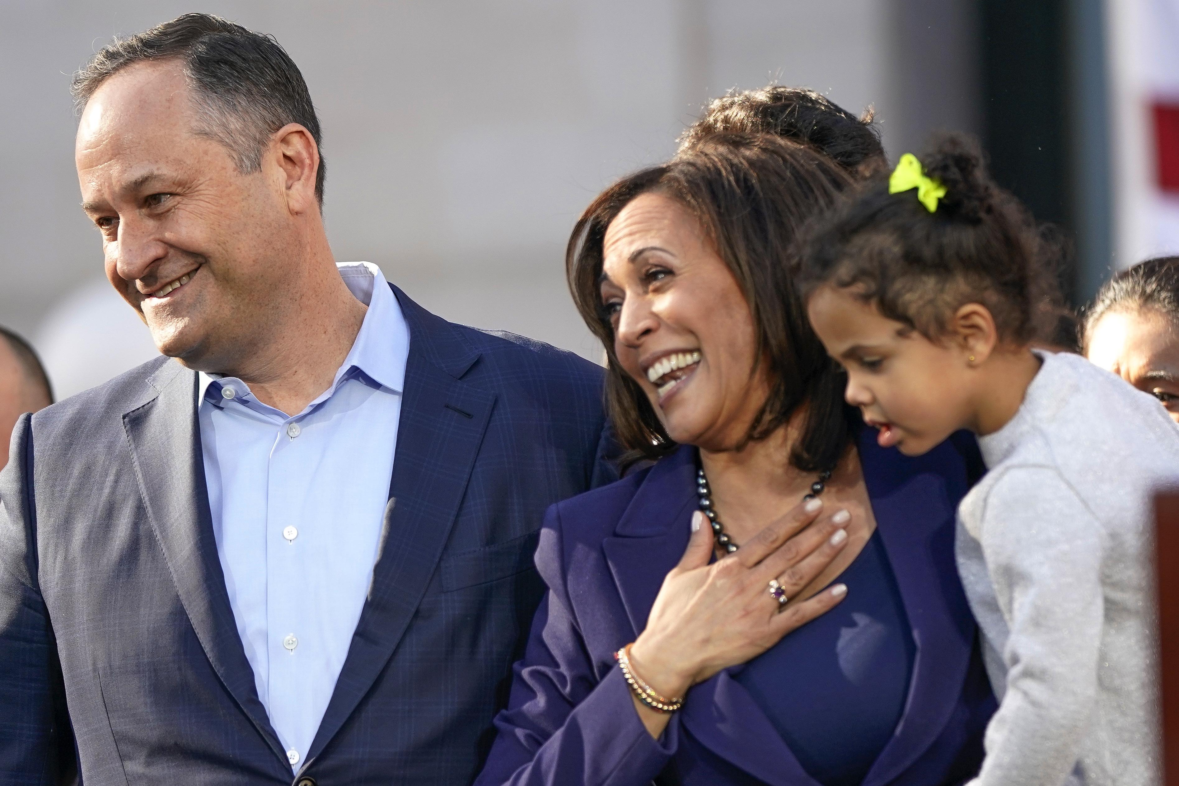 Harris' husband takes on growing public role in 2020 race ...