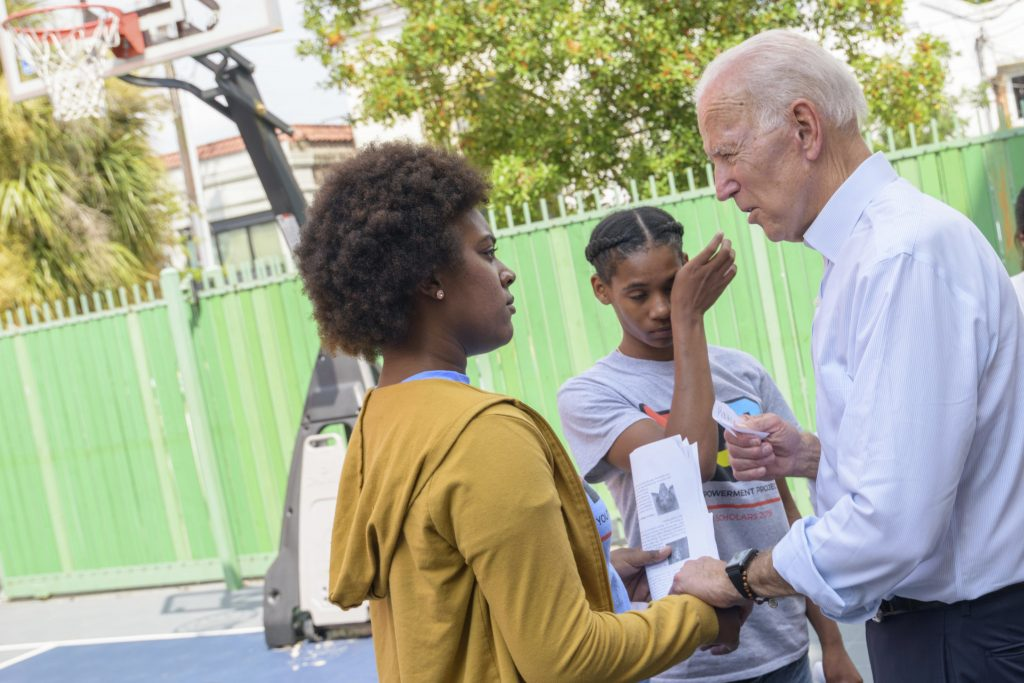 Biden on racism: Whites 'can never fully understand'