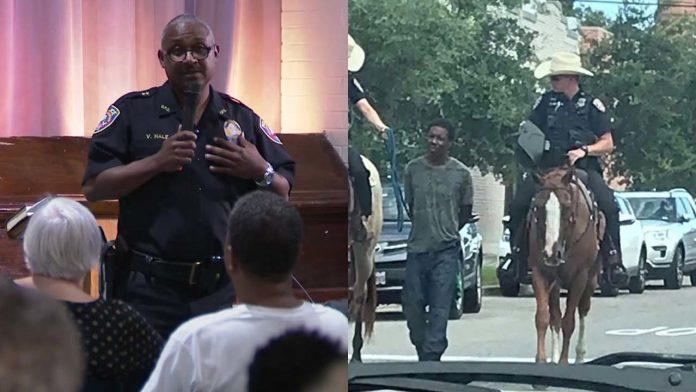 Galveston Police Chief Vernon Hale apologizes