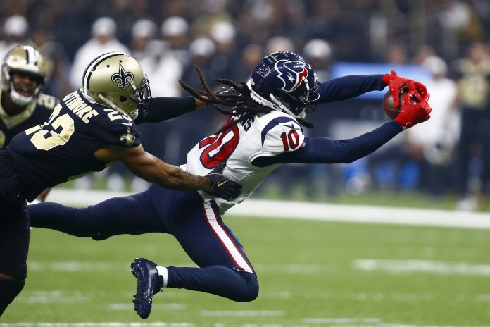 Texans Saints Football