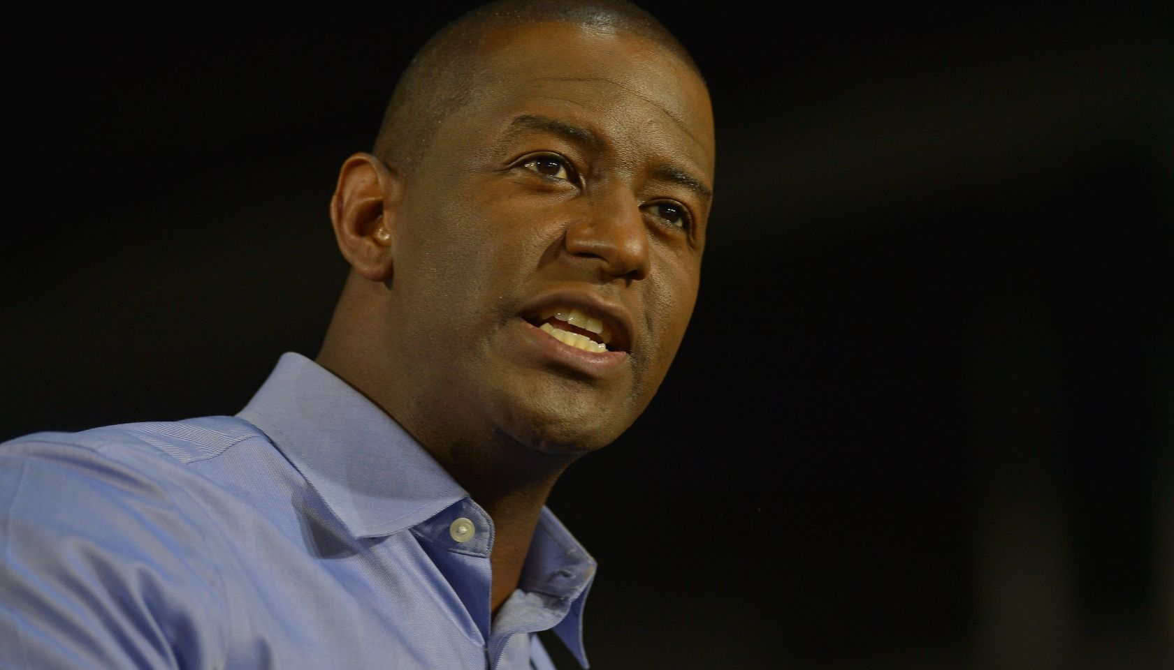 Andrew Gillum joins Stacey Abrams amid early Vice President running mate speculation