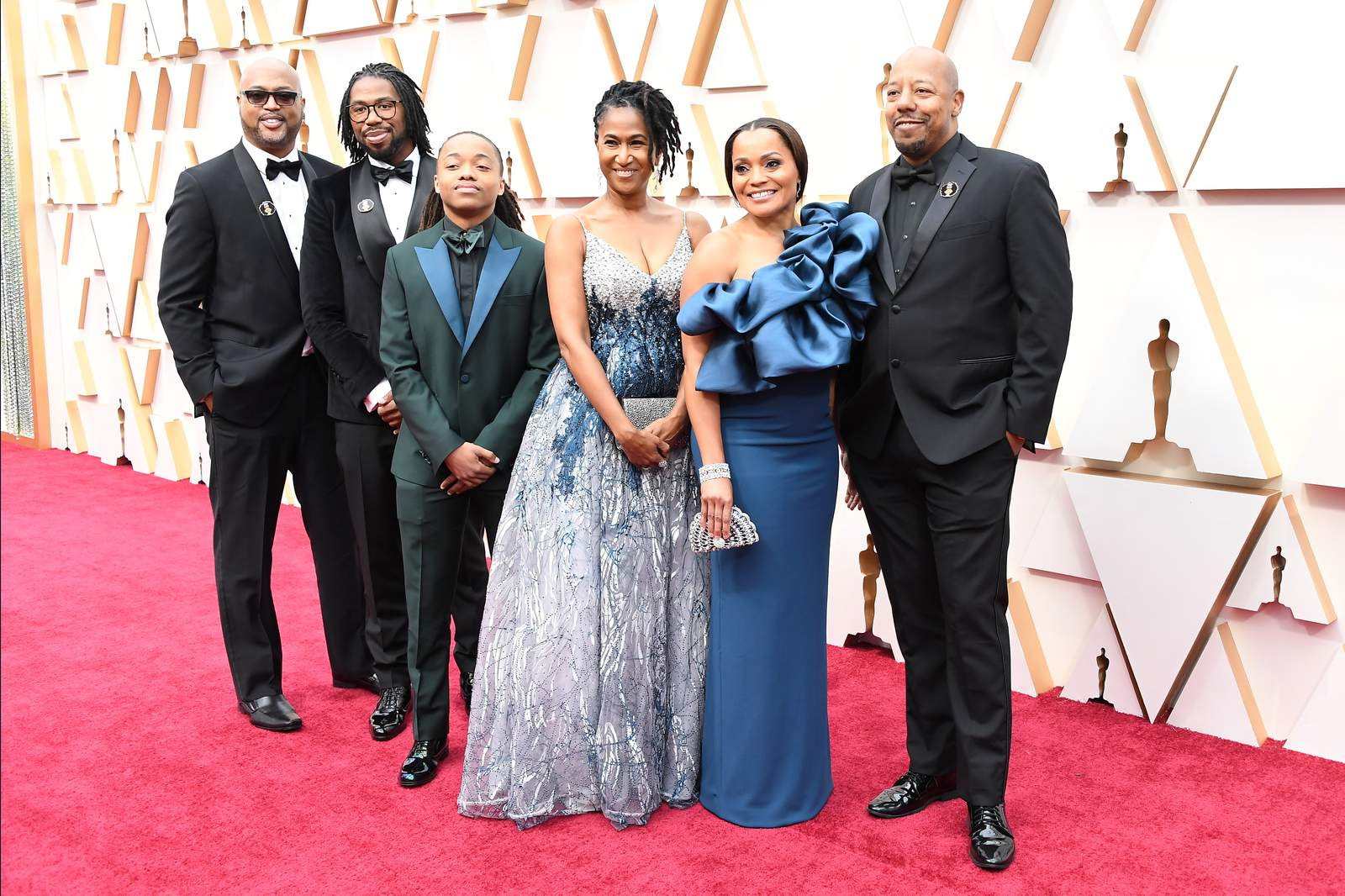 Image result for hair lobve at the Oscars 2020