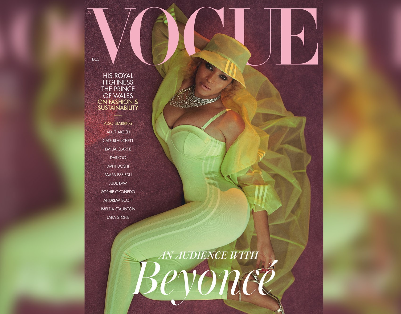 Beyoncé lands December cover of 'British Vogue'