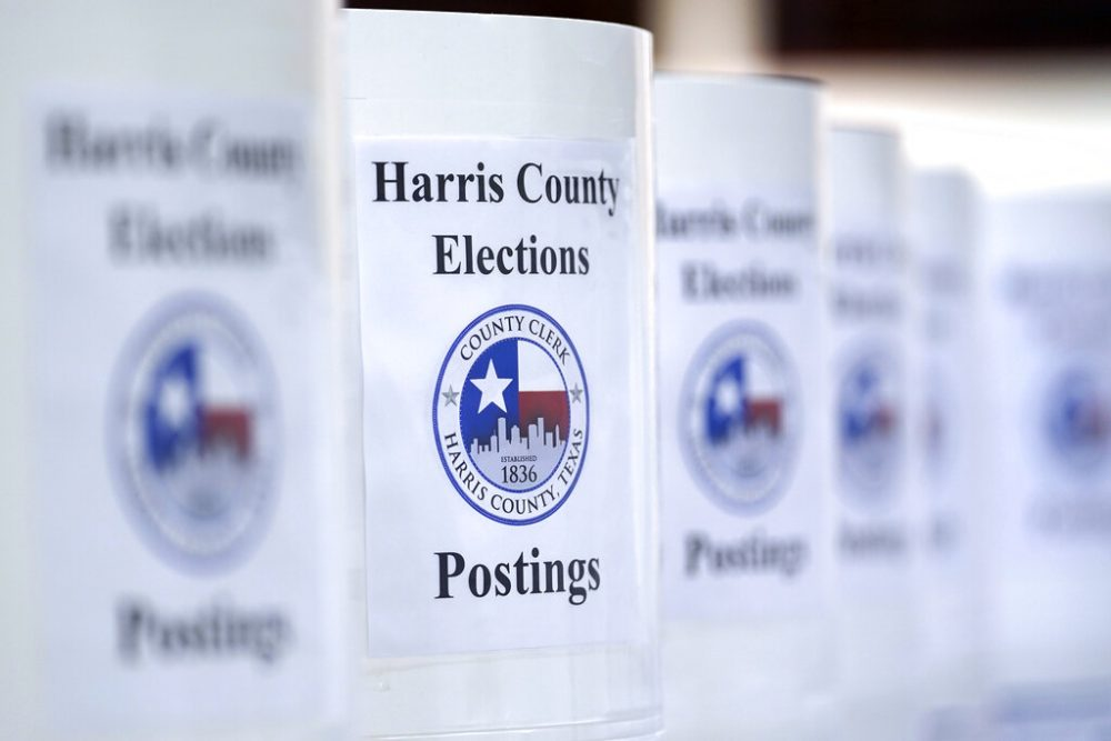 Harris County surpasses total 2016 turnout