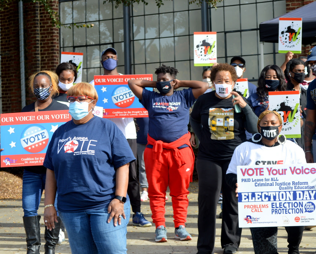 Voter suppression efforts galvanizing volunteers nationwide for critical GA Senate runoffs