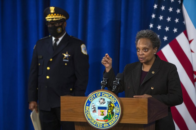 Pastors, Chicago mayor talk about Black woman's botched raid