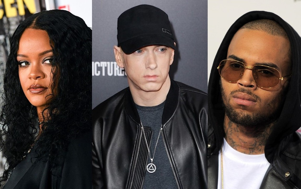 Eminem's song has apology to Rihanna for Chris Brown lyrics