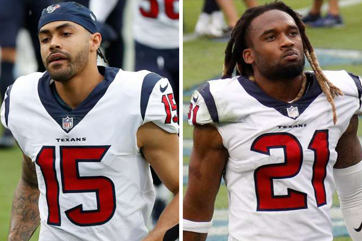 Texans Fuller, Roby suspended six game for PEDs violations