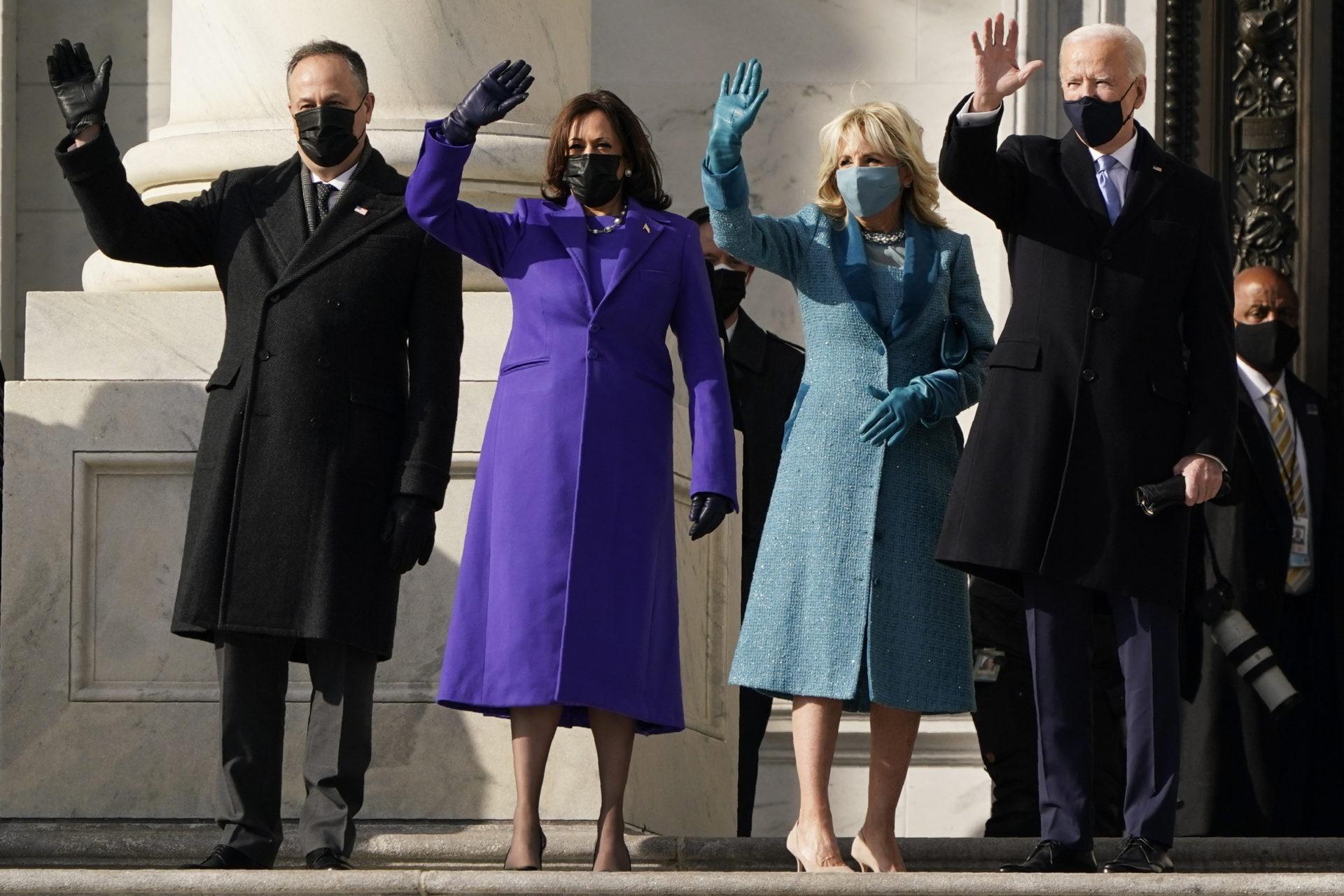 Two Black designers responsible for VP Kamala Harris' Inauguration fashion